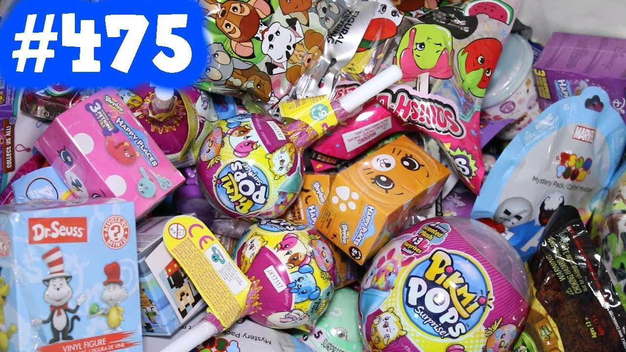 Random Blind Bag Box Episode 475 Pikmi Pops Surprise