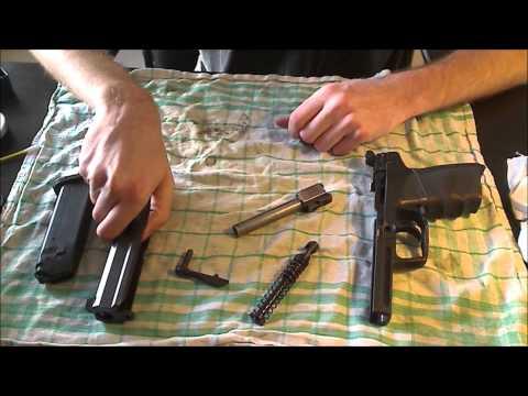 H&K USP 9mm Zerlegen und Reinigen