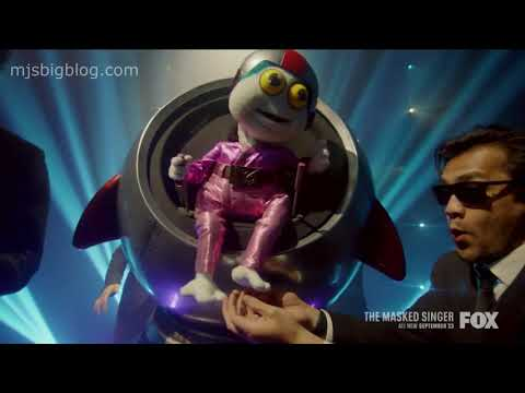 The Masked Singer Season 4 Meet Baby Alien - YouTube