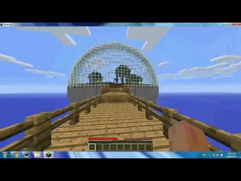 How to install the Biosphere mod on Minecraft