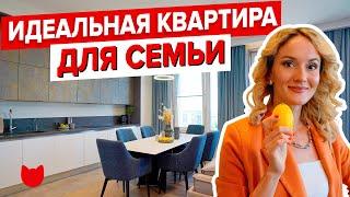 Обзор квартиры в стиле МИНИМАЛИЗМ для семьи с тремя дочками Современный Дизайн Интерьера Рум Тур