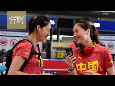 2016 Rio Olympics: Chinese women's volleyball team gets warm send-off to Rio