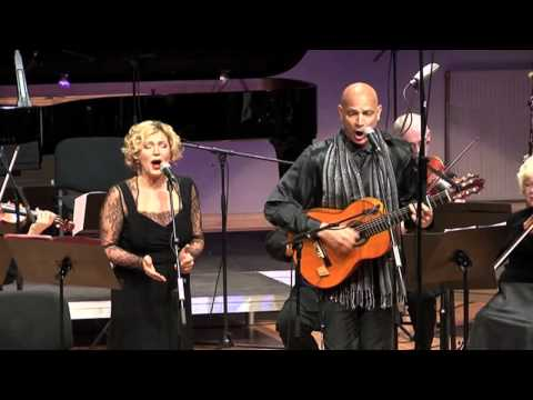 MORENA ME LLAMAN performed by Gerard Edery and Maria Krupoves with the Klaipeda Chamber Orchestra