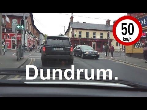 Dash Cam Ireland - Barton Road East to Dundrum Main Street, Dublin 14