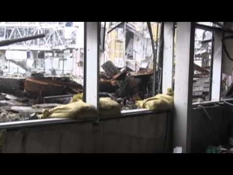 Ukrainian Cyborg Tanks: Armored support for Ukrainian defenders of Donetsk International Airport