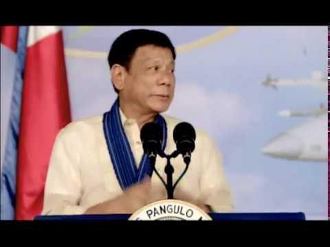 President Rodrigo R. Duterte's Speech during the 69th PAF Anniversary, 05 July 2016