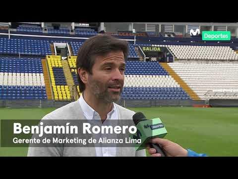 Liga 1 Movistar:   Declaraciones De Benjamín Romero - Gerente De Marketing De Alianza Lima