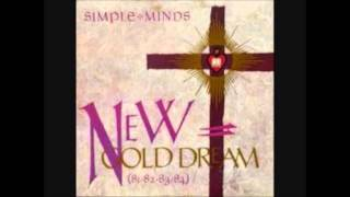 Simple Minds Colours Fly And Catherine Wheel inst cover 2009
