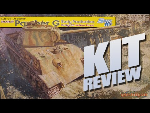Kit Review: Dragon/Cyber-Hobby 6267 Panther G Early Production Pz.Rgt.26 Italian Front in 1/35