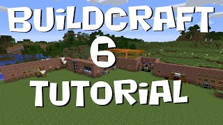BuildCraft 6 Tutorial #1 - Basics, Energy and Factory (MC 1.7.10)