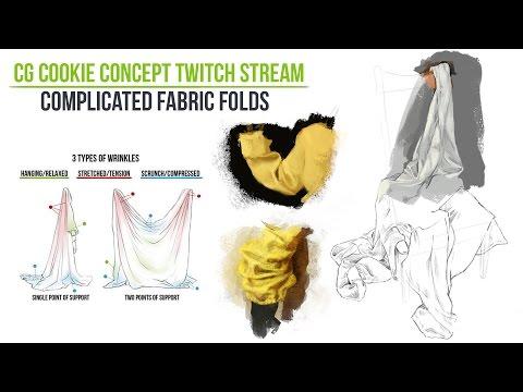 Stream: Complicated Fabric Folding