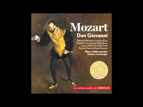 Cesare Valletti, Elisabeth Schwarzkopf, Wiener Philharmoniker, Herbert von Karajan - Don Giovanni, K