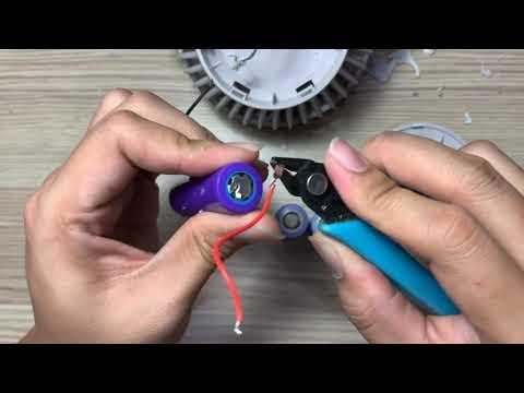 Mod pin quạt xiaomi solove f3