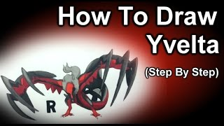How To Draw Yveltla Step By Step