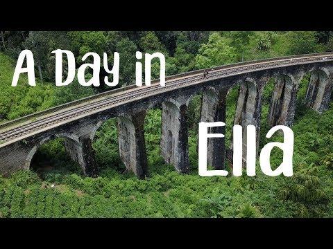 A day in Ella - Sri Lanka Vlog 3 - Drone Video