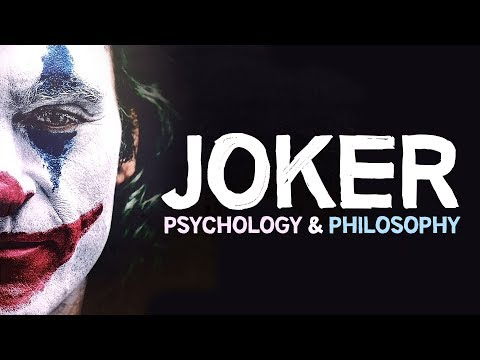 JOKER | Psychology & Philosophy (based on Carl Jung & Albert Camus)