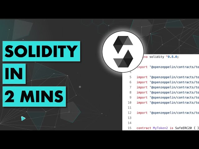Solidity in 2 mins (for beginners)
