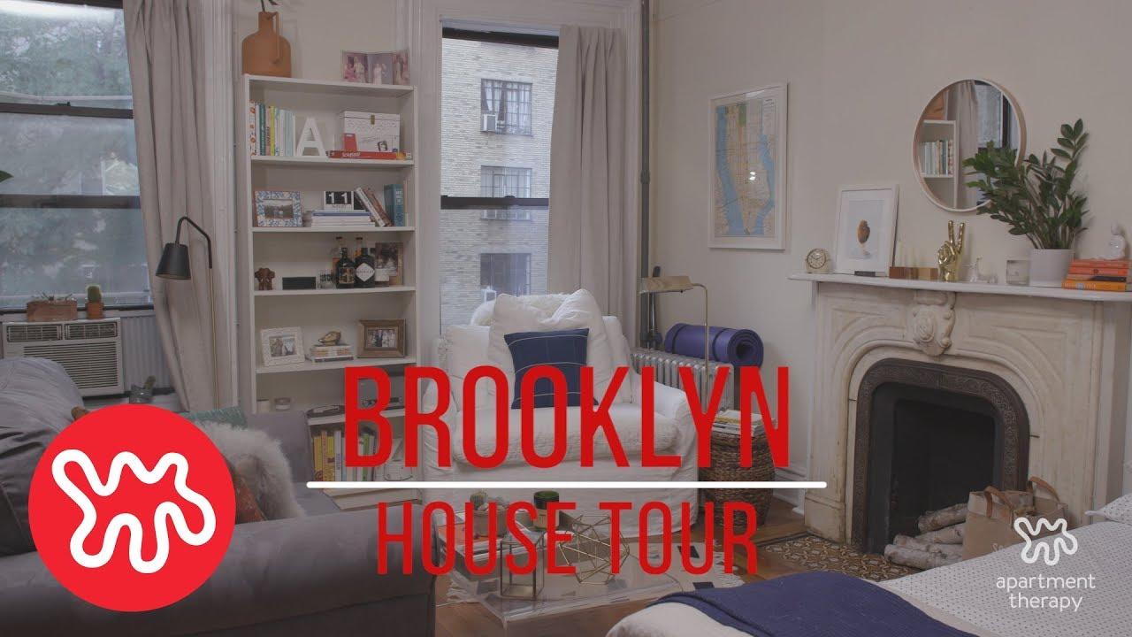 cozy furniture brooklyn. house tour emilyu0027s cozy brooklyn apartment furniture