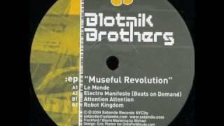Blotnik Brothers - Electro Manifesto