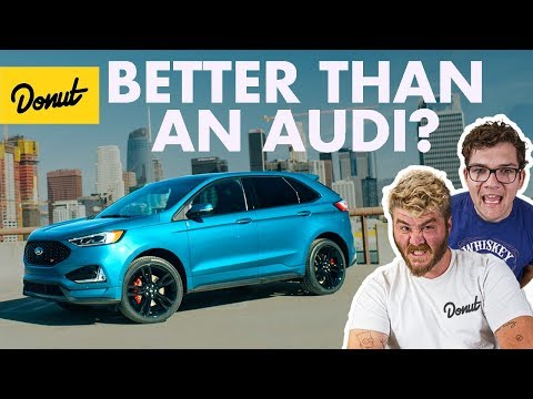 2019 Ford Edge ST: Can Ford Beat Audi? | Donut Media