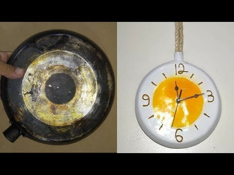 do not throw away old frying pan – DIY & crafts