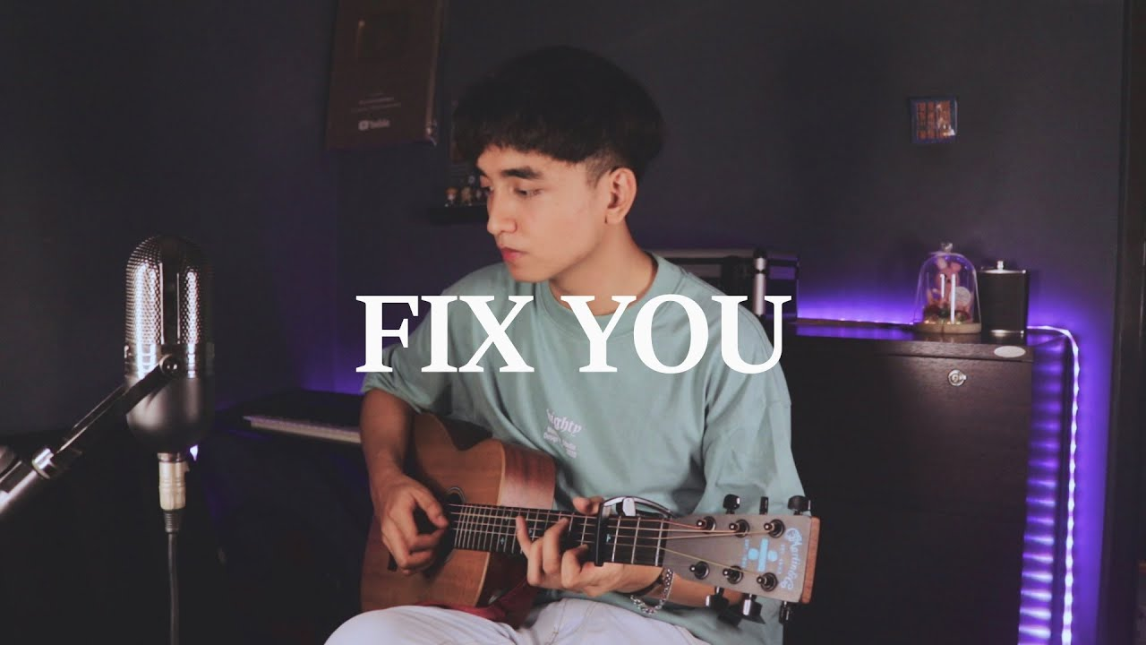 """Coldplay """"Fix You"""" cover"""