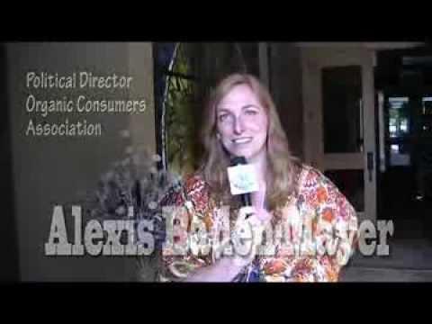 Alexis Baden-Mayer Political Director for the Organic Consumers Association