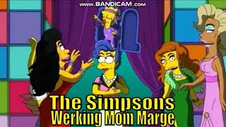 The Simpsons Homer S 30 E 07 Werking Mom Marge Drag Queen