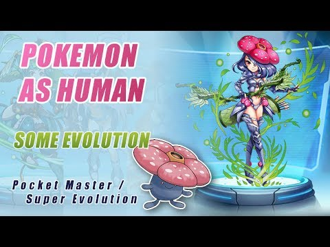 Pokemon As Human Some Evolution Pocket Master Super Evolution