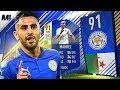 FIFA 18 TOTS MAHREZ REVIEW | 91 TOTS MAHREZ PLAYER REVIEW | FIFA 18 ULTIMATE TEAM