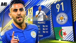 FIFA 18 TOTS MAHREZ REVIEW | 91 TOTS MAHREZ PLAYER REVIEW | FIFA 18 ULTIMATE TEAM