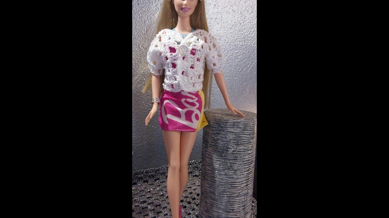 Vestiti A Schemi Tutorial Uncinetto Barbie VpMSUqz
