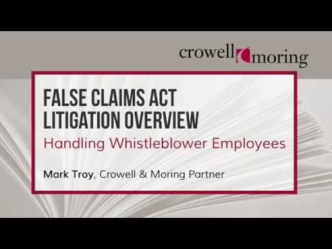Part 2: FCA Litigation Overview, with Mark Troy of Crowell & Moring