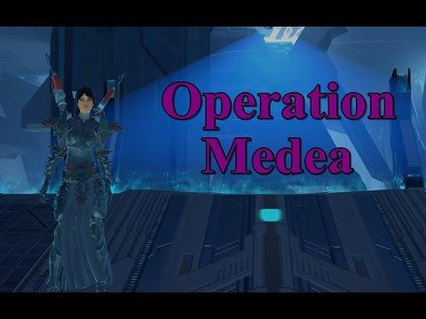 Skyforge - Ascension Operation Medea (hard mode solo )
