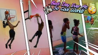 Surprising My Family With The Best Fun Day Ever At So Cool World!