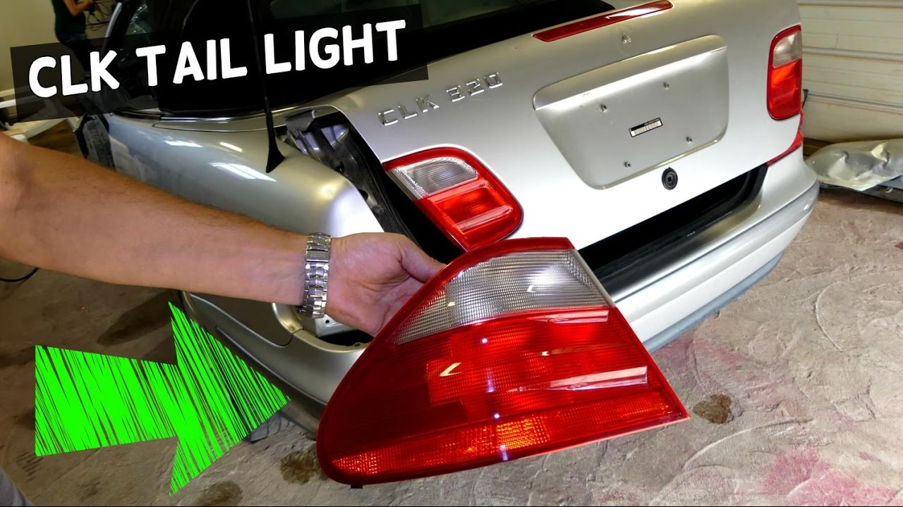 Light Assembly W208 Brake Mercedes Clk Replacement Tail MGqSUzpV