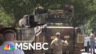 Donald Trump's July 4th Celebration Beginning To Look Like A MAGA Rally | Deadline | MSNBC