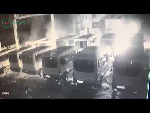 47news Поджигатели автобусов в Кингисеппе