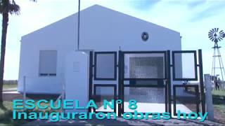 Escuela n° 8 inauguran obras