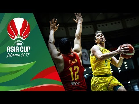 HIGHLIGHTS: Australia vs. China (VIDEO) FIBA Asia Cup 2017 Quarterfinal