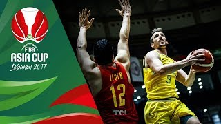 Australia v China - Highlights - Quarter-Final - FIBA Asia Cup 2017