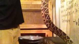 Eastern Diamondback Rattlesnake venom extraction