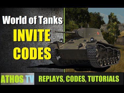 World of Tanks INVITE CODES EU UPDATED 2018 7 CODES YouTube