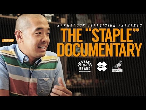 Jeff Staple explains the meaning of the pigeon logo | MAKING THE BRAND | Episode 1