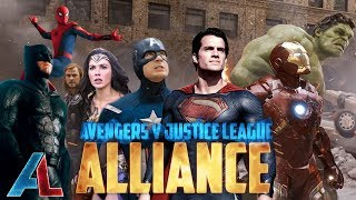 Video Avengers v Justice League: ALLIANCE - Epic Fan Film Supercut download MP3, 3GP, MP4, WEBM, AVI, FLV Juli 2018