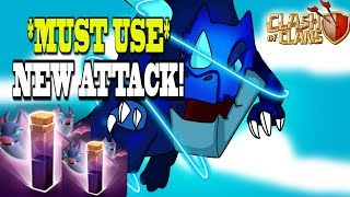 *HUGELY OP* 7 Electric Dragons + Slammer + Bat Spells | 11v11 Max Base! | Clash of Clans