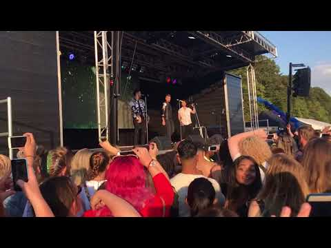 Union J - Fade - Leicester Pride 2017
