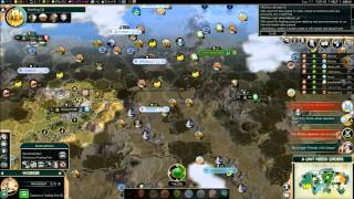 Civilization V Brave New World Multiplayer Game 043 8 Player FFA: China Introduction/Spoilers