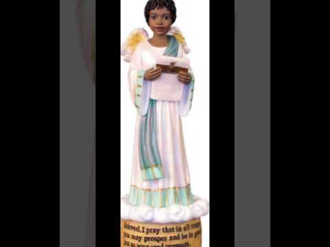 African American Angels Figurines-African American Angels Collectibles