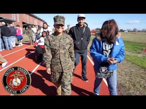 Sister GRADUATES bootcamp! ♥ USMC Parris Island, SC